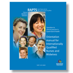 Orientation manual for Internationally Qualified Nurses and Midwives cover